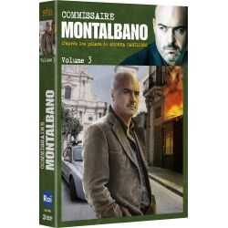 COMMISSAIRE MONTALBANO - VOLUME 3 (3 DVD)