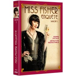 MISS FISHER ENQUETE ! - SAISON 1 (4 DVD)