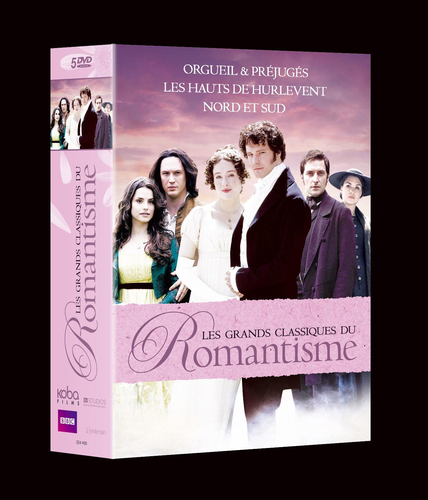 3 GRANDS CLASSIQUES DU ROMANTISME (5 DVD)