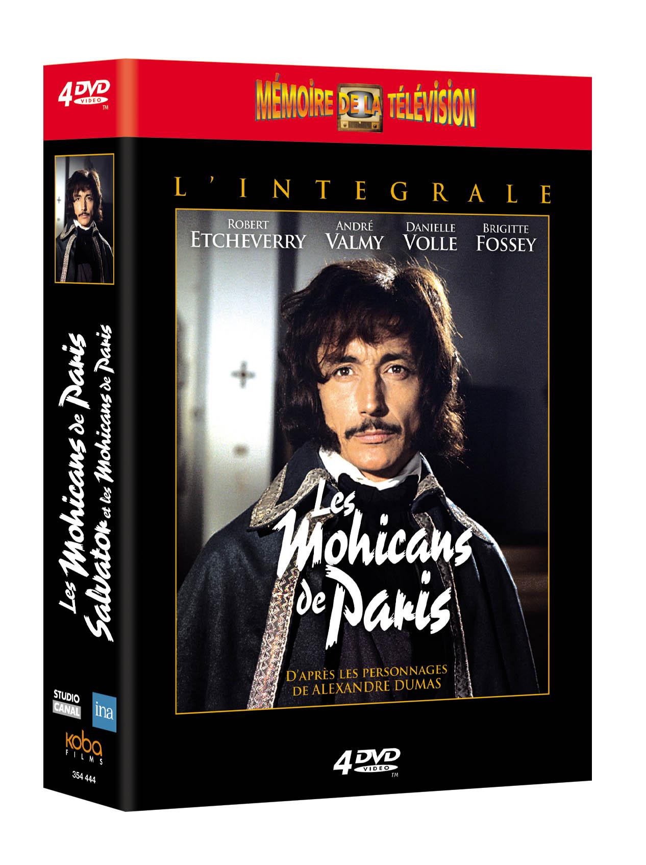 MOHICANS DE PARIS (LES) - INTEGRALE (4 DVD)