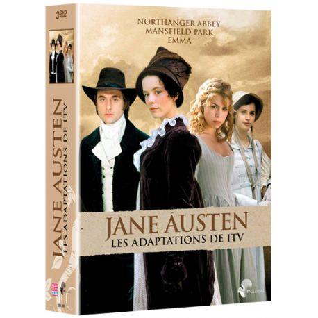 JANE AUSTEN - LES 3 ADAPTATIONS ITV (3 DVD)