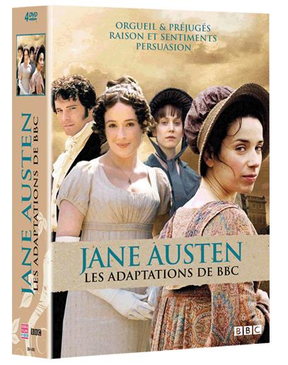 JANE AUSTEN - LES 3 ADAPTATIONS BBC (4 DVD)