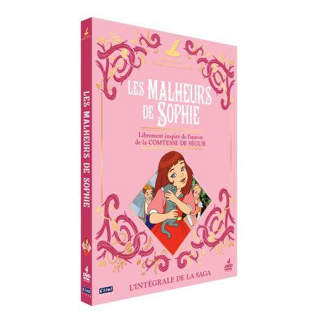 LES MALHEURS DE SOPHIE - INTÉGRALE 4 DVD