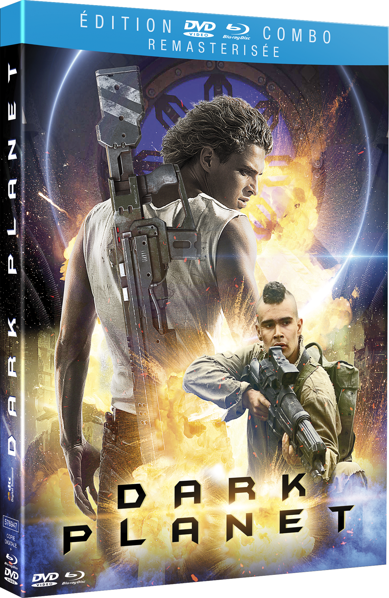 DARK PLANET - DVD + BLU-RAY