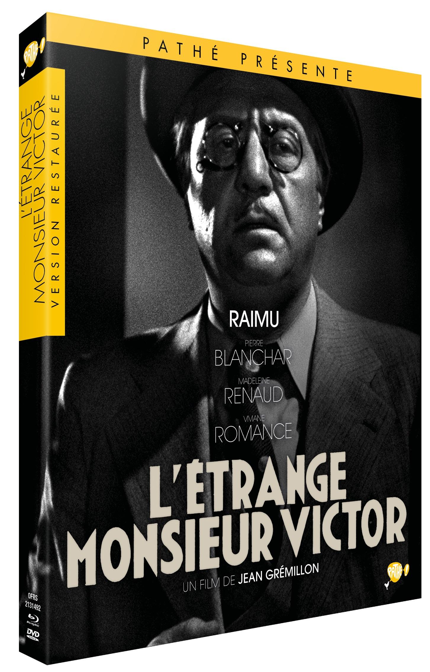 L'ETRANGE MONSIEUR VICTOR - DVD + BLU-RAY
