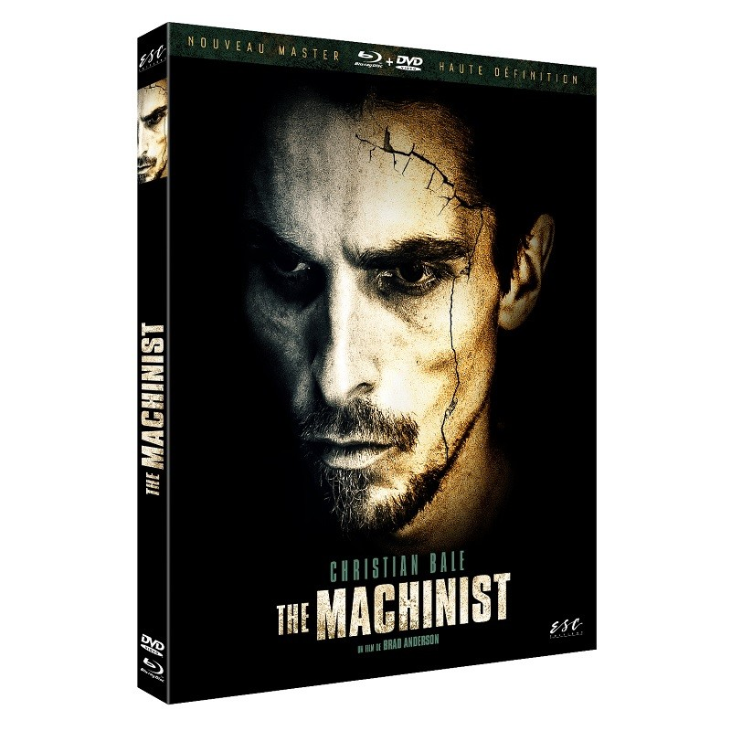 THE MACHINIST - DVD + BLU-RAY