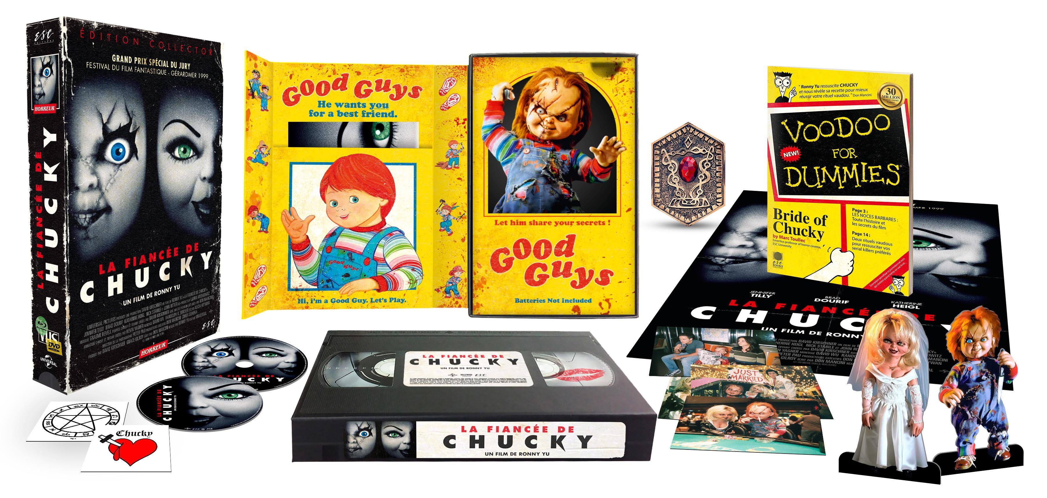 LA FIANCÉE DE CHUCKY - ÉDITION COLLECTOR  LIMITÉE BOITIER VHS