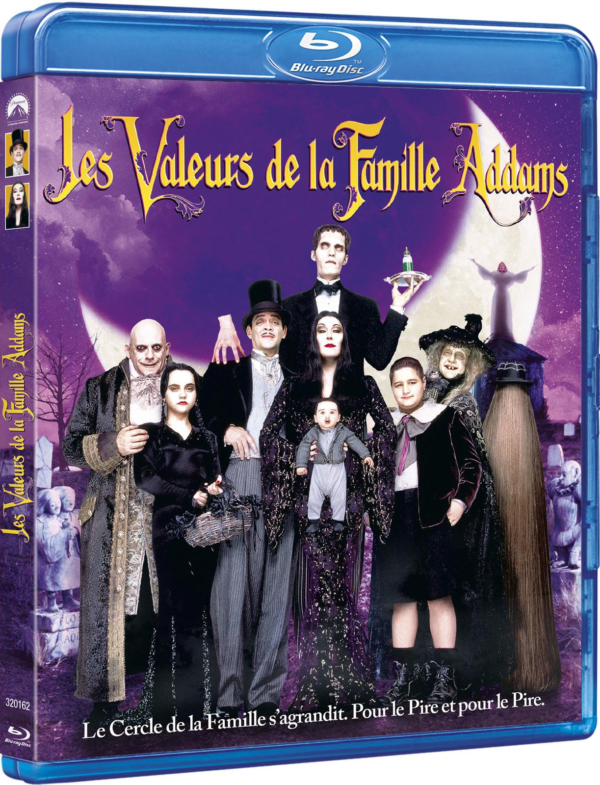 LES VALEURS DE LA FAMILLE ADDAMS BRD