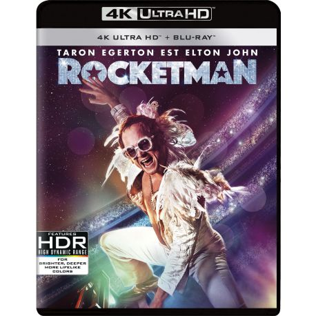 ROCKETMAN 4K + BRD
