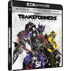TRANSFORMERS THE LAST KNIGHT 4K + BRD ED