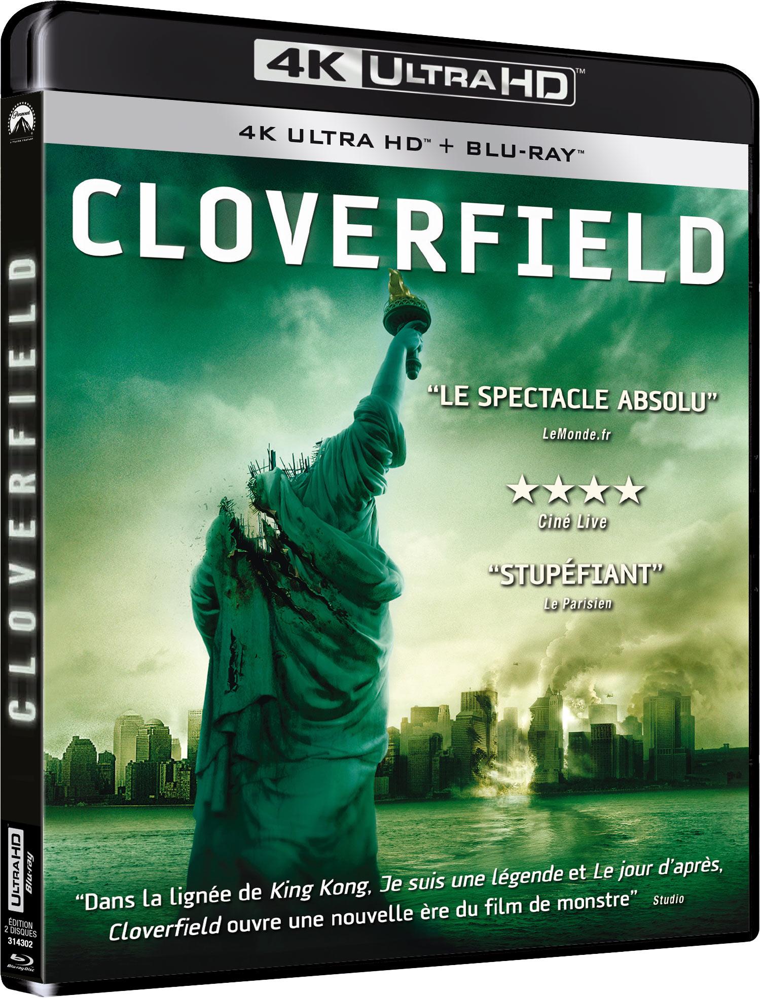 CLOVERFIELD 4K + BRD