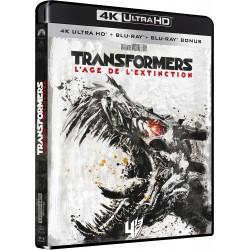 TRANSFORMERS 4 AGE EXTINCTION 4K UHD + BRD