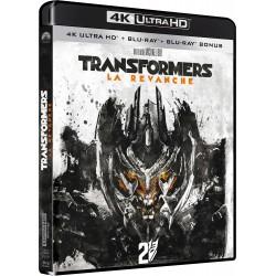TRANSFORMERS 2 LA REVANCHE 4K UHD + BRD + BON