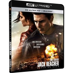 JACK REACHER NEVER BRD 4K UHD + UV
