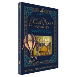 LES VOYAGES EXTRAORDINAIRES DE JULES VERNE - INTÉGRALE 3 DVD