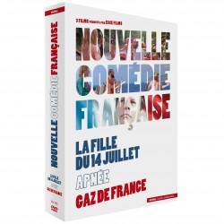 NOUVELLE COMEDIE FRANCAISE COFFRET 3 FILMS - LA FILLE DU 14 JUILLET, APNEE, GAZ DE FRANCE