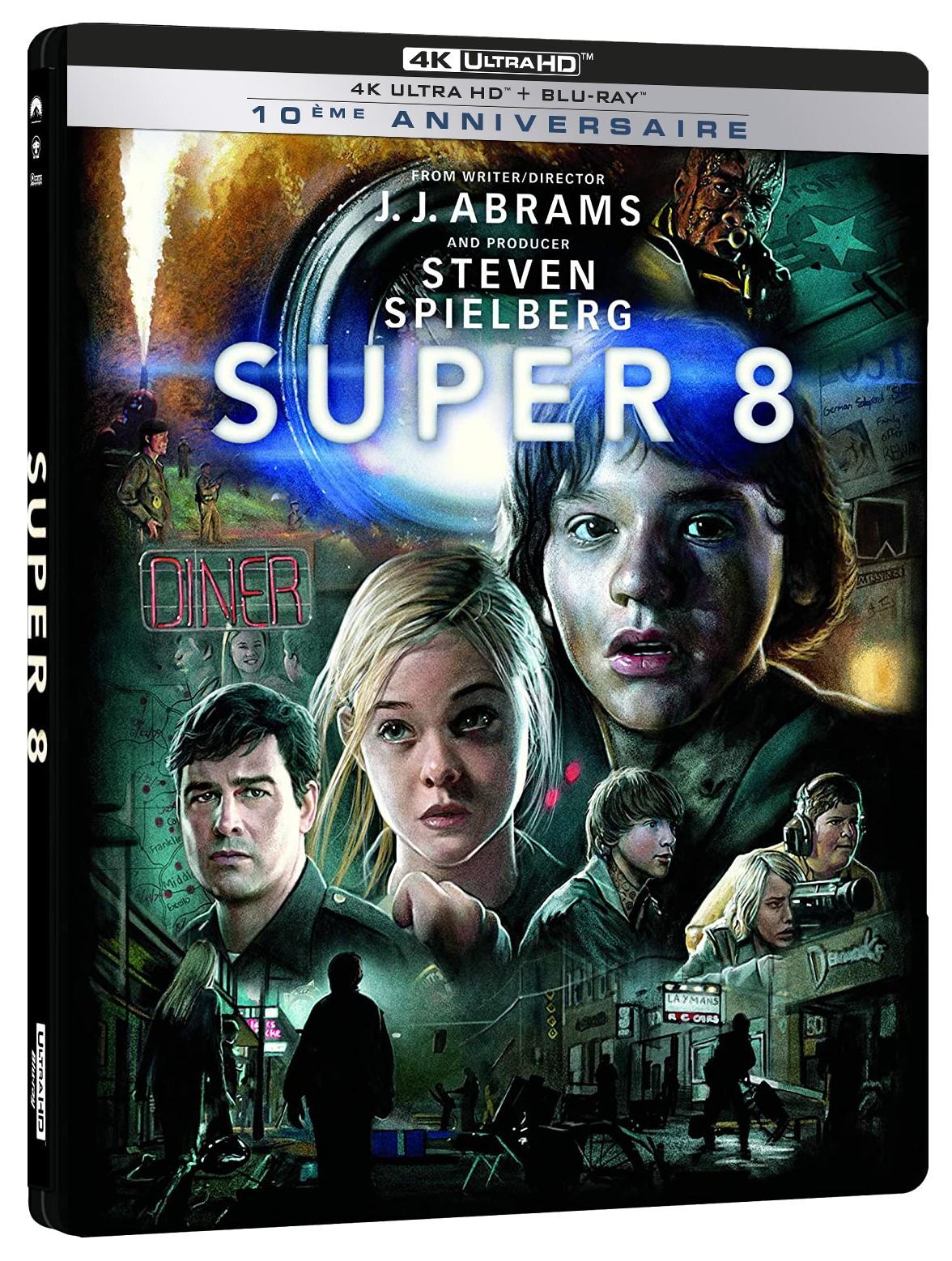 SUPER 8 - UHD 4K + BLU- RAY