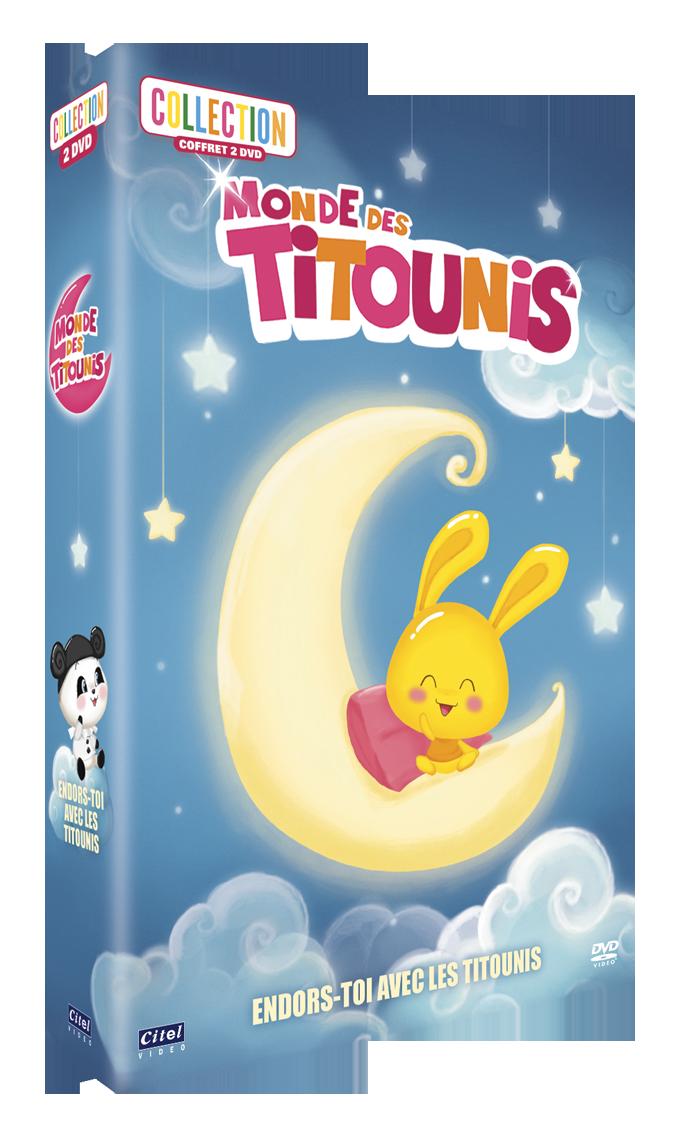 MONDE DES TITOUNIS - COLLECTION 2 DVD
