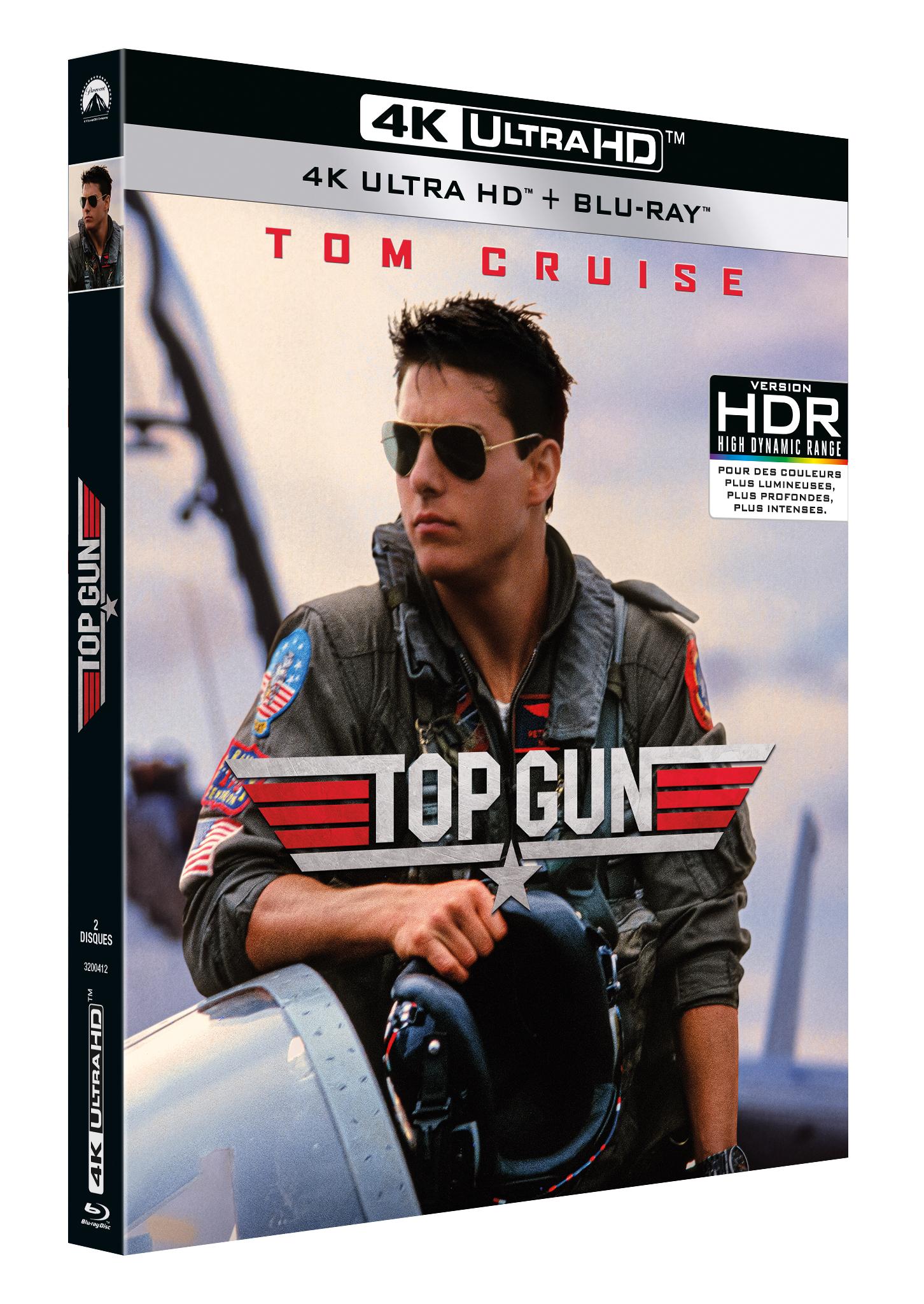 TOP GUN  - EDITION UHD 4K + BLU-RAY