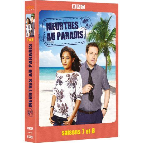 MEURTRES AU PARADIS SAISONS 7 & 8 (6 DVD)
