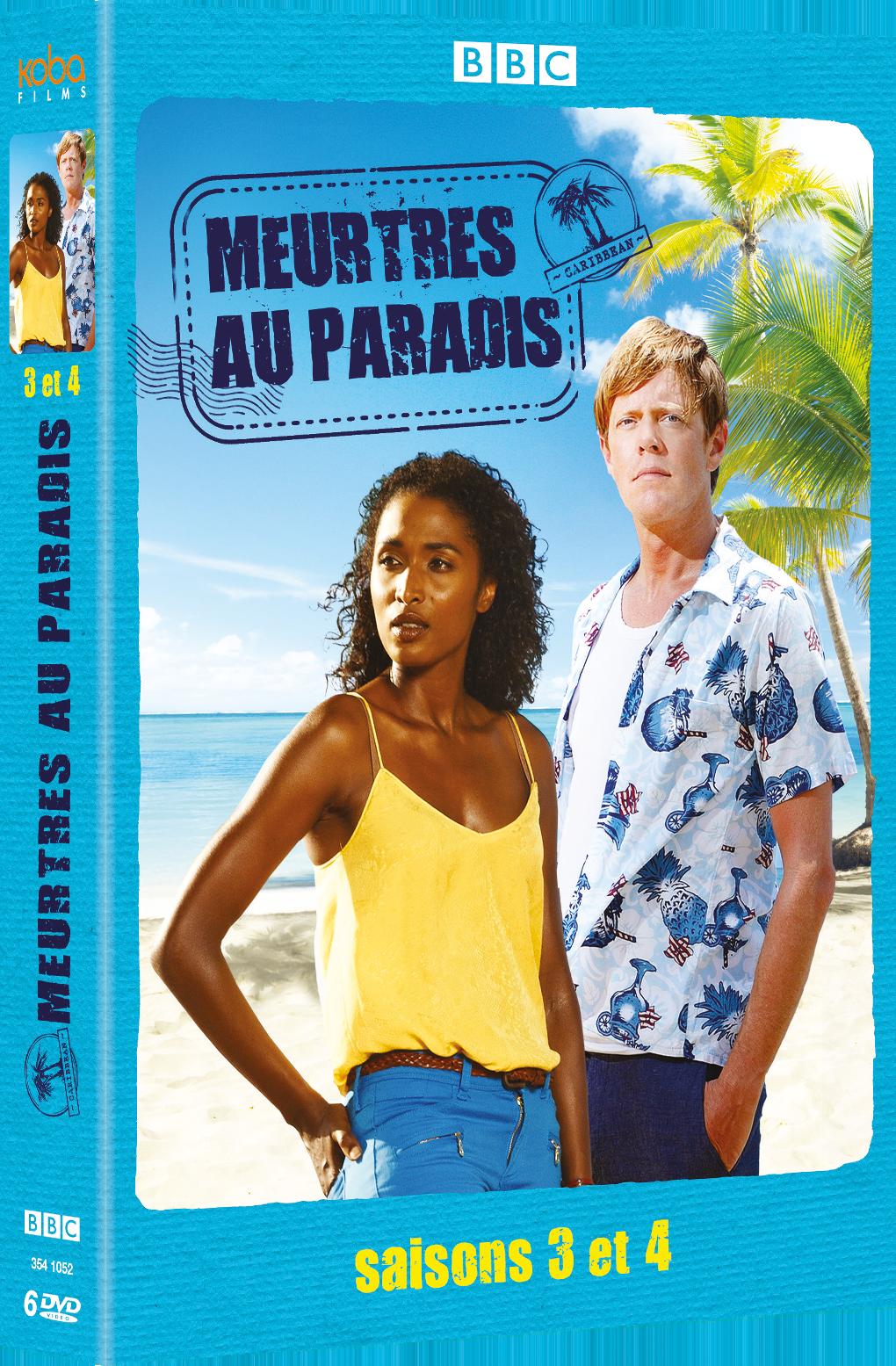 MEURTRES AU PARADIS SAISONS 3 & 4 (6 DVD)