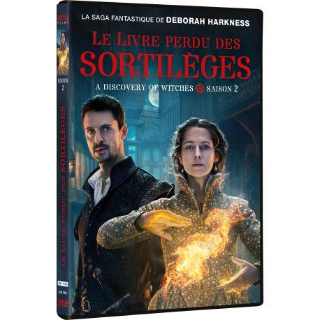 LE LIVRE PERDU DES SORTILÈGES SAISON 2 - 3 DVD