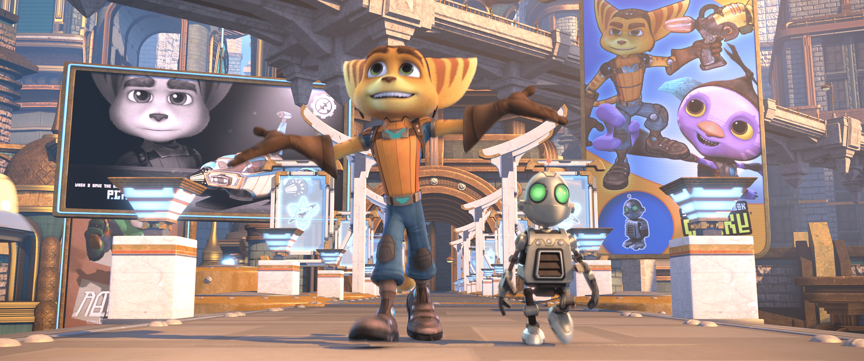 RATCHET AND CLANK LE FILM - BRD