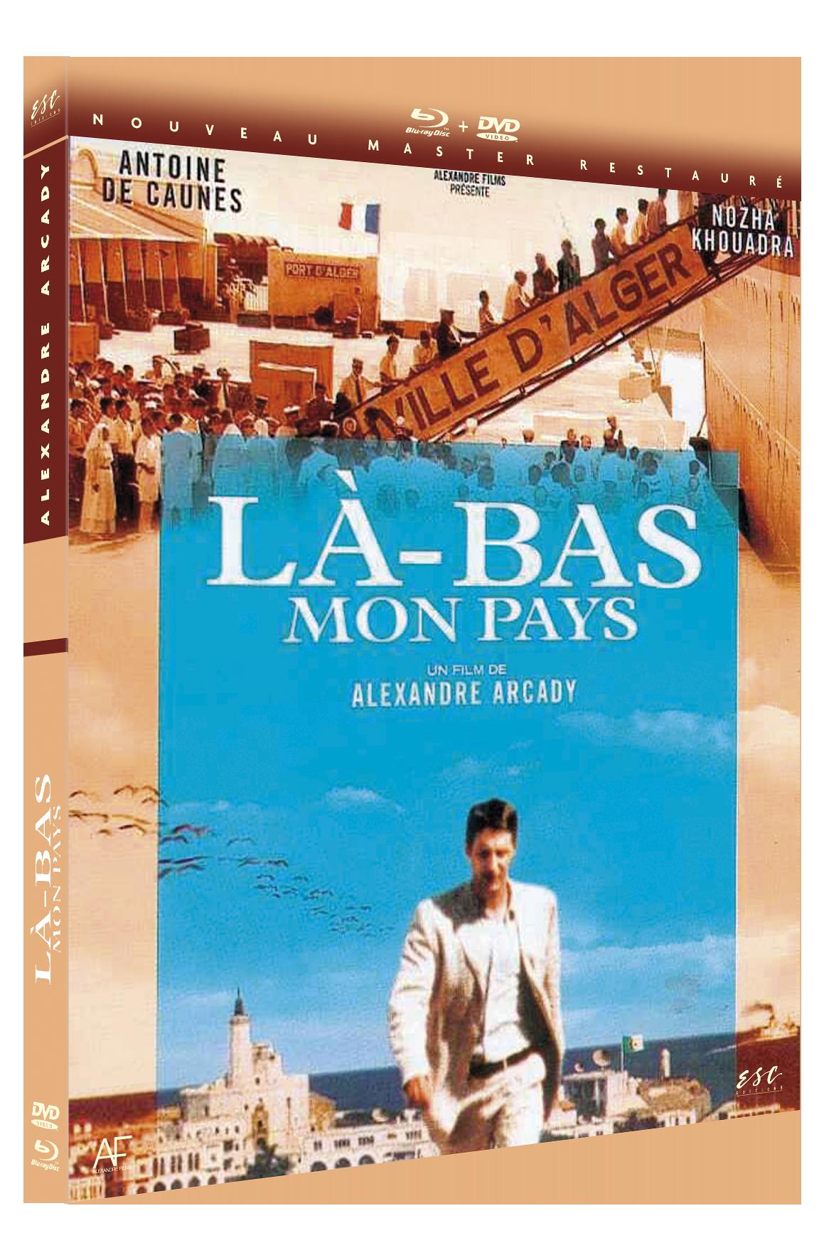 LA BAS MON PAYS - DVD + BRD