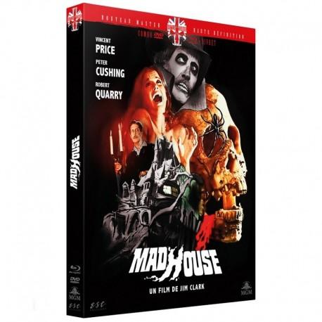 MADHOUSE (1974) - DVD + BRD