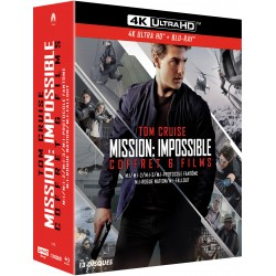 MISSION IMPOSSIBLE 1-6 - COFFRET BRD UHD 4K