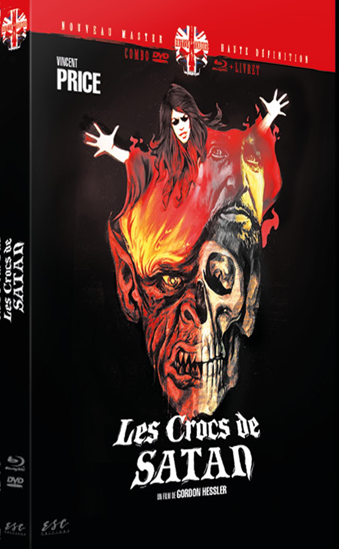 LES CROCS DE SATAN (CRY OF THE BANSHEE) - BRD + DVD