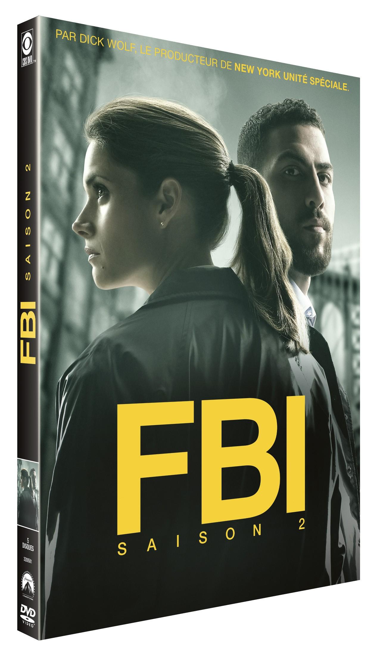 FBI SAISON 2 - 5 DVD
