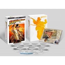 INDIANA JONES 4 FILMS 4K -  COFFRET DIGIPACK COMBO 4 UHD 4K + 5 BLURAY