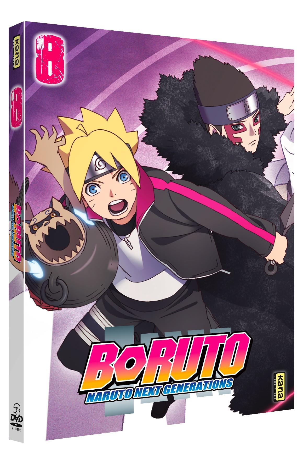 BORUTO NARUTO NEXT GENERATIONS VOL 8 - 3 DVD