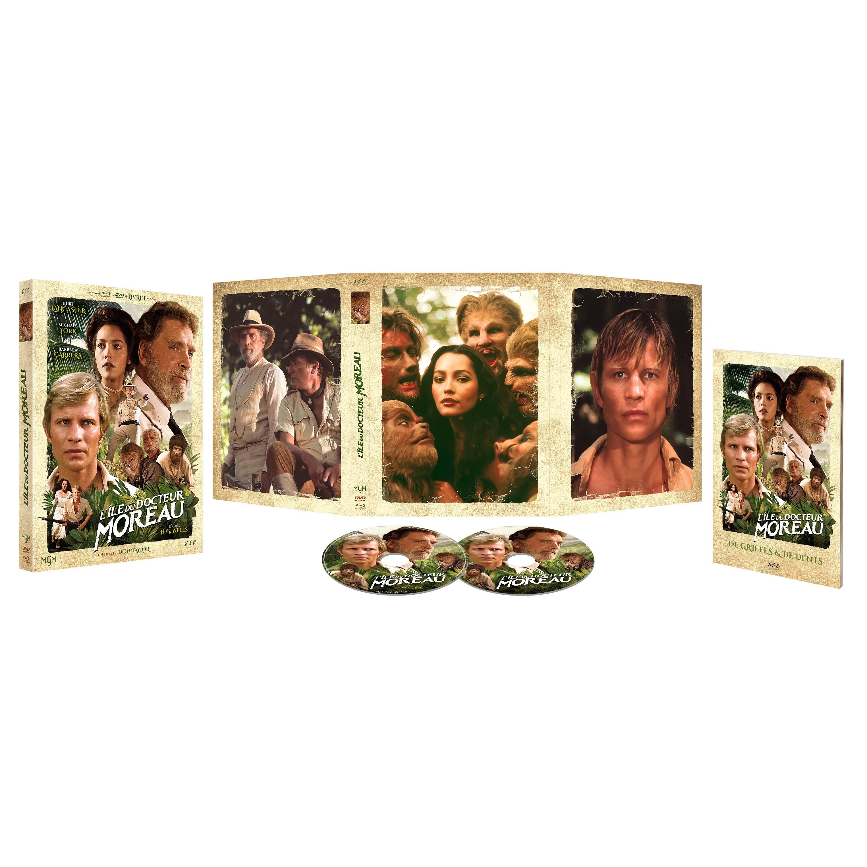L'ILE DU DOCTEUR MOREAU 1977 (THE ISLAND OF DR MOREAU) - BRD + DVD