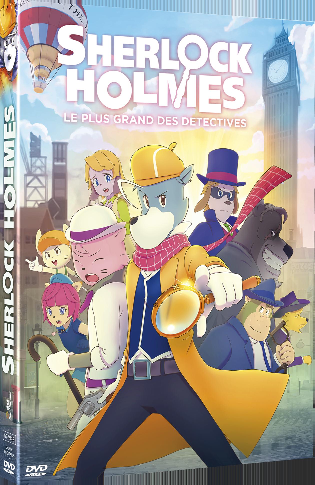 SHERLOCK HOLMES LE PLUS GRAND DES DETECTIVES