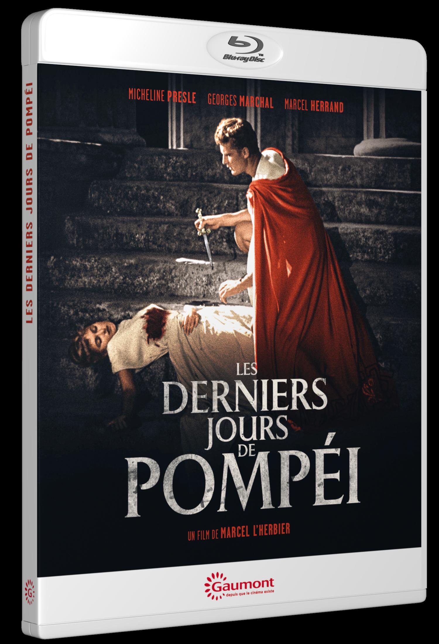 LES DERNIERS JOURS DE POMPEI - GDBD