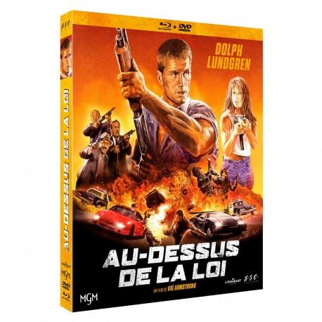 AU-DESSUS DE LA LOI - BRD + DVD