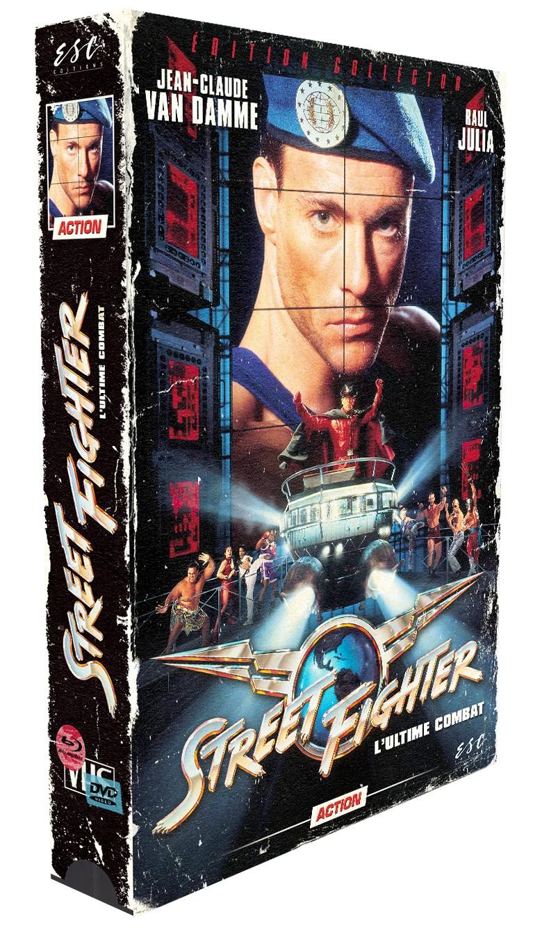 STREETFIGHTER (COLLECTOR VHS) - BRD + DVD