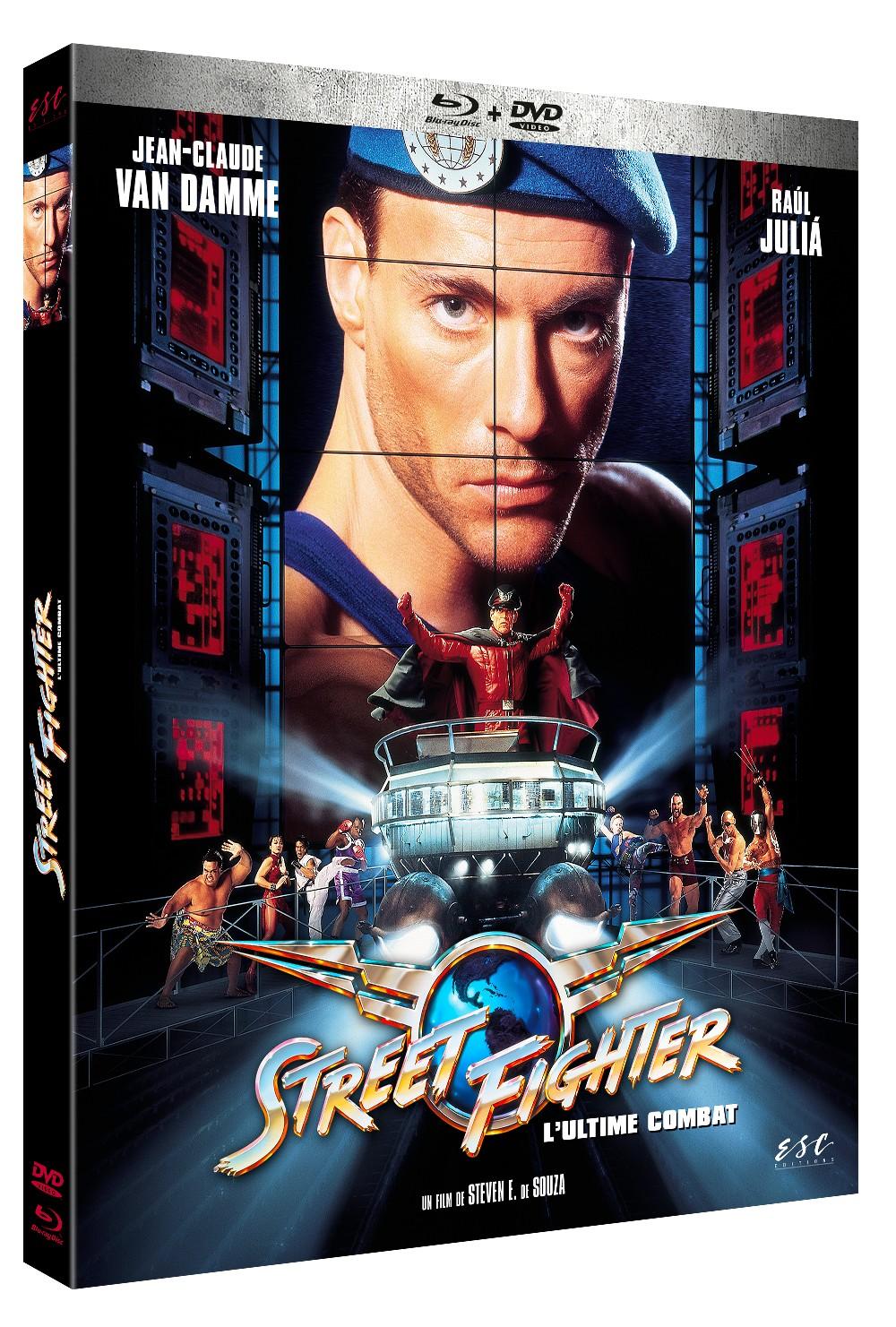 STREETFIGHTER - BRD + DVD