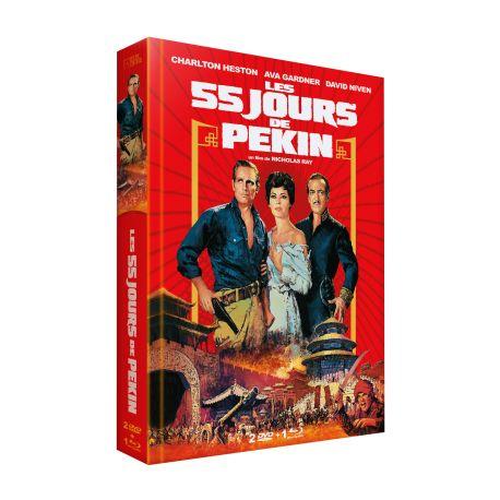 LES 55 JOURS DE PEKIN ÉDITION LIMITÉE - DVD + BRD