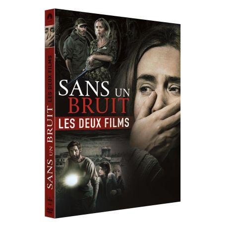 SANS UN BRUIT 1 + 2 - COFFRET 2 DVD