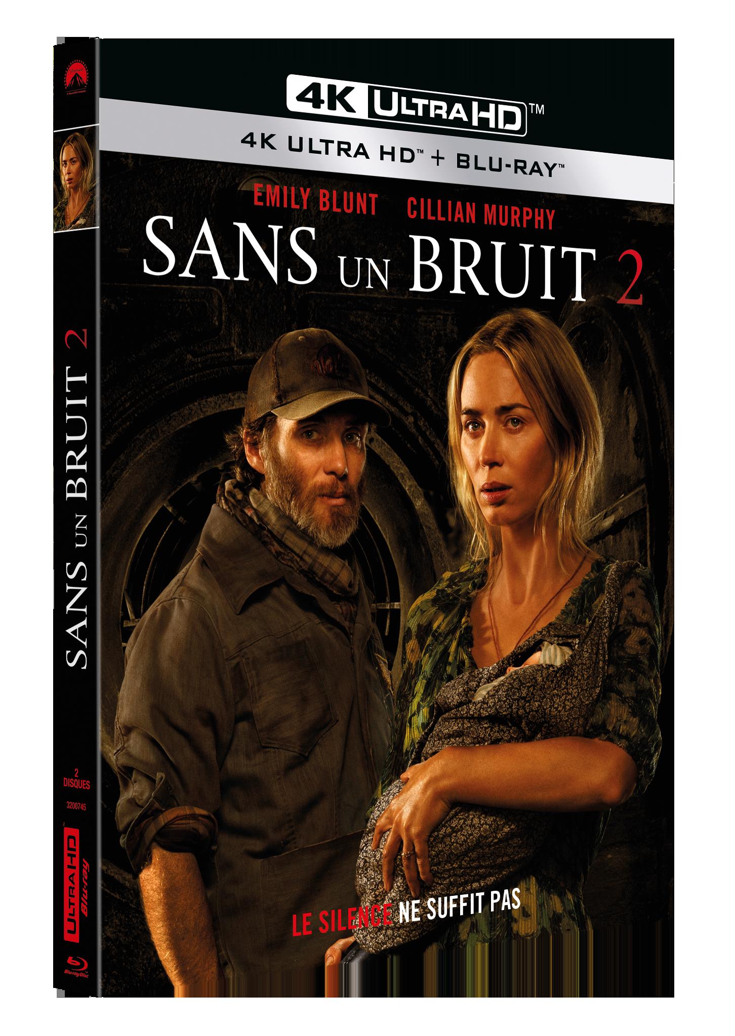 SANS UN BRUIT 2 - UHD 4K + BRD